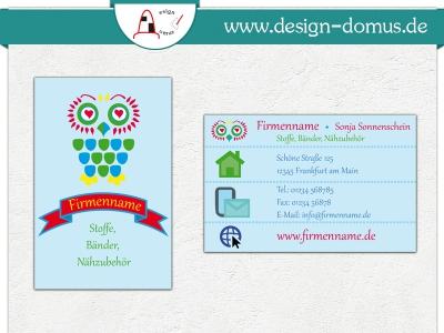 Visitenkarten Für Privat Und Geschäft Design Domus